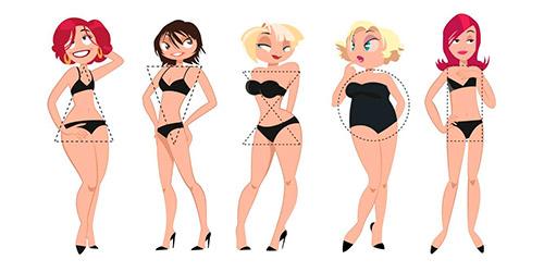 Коррекция фигуры при помощи одежды